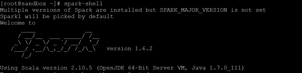 Spark1 in HDP